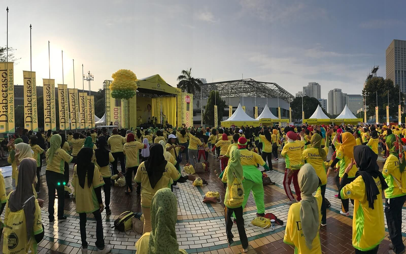 Gerakan Indonesia Lawan Diabetes Oleh Kementrian Kesehatan dan  PT Kalbe Farma Tbk