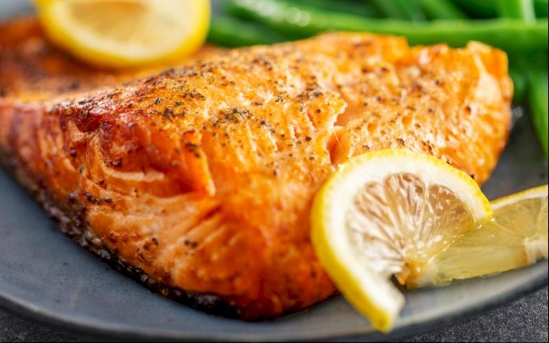 Orange Pepper Grilled Fish