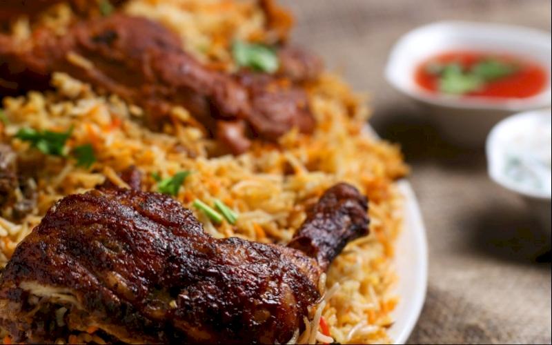 Chicken Spiced Rice