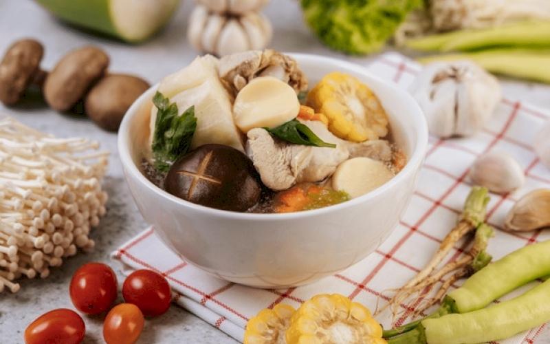 Chicken Mushroom Corn Soup Recipe