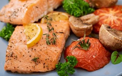 Fillet Salmon Cita Rasa Asia
