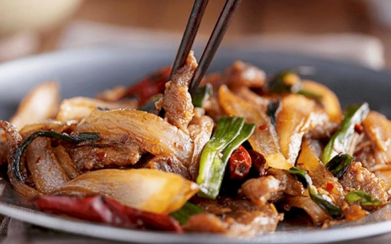 Tumis Sayuran & Daging Sapi