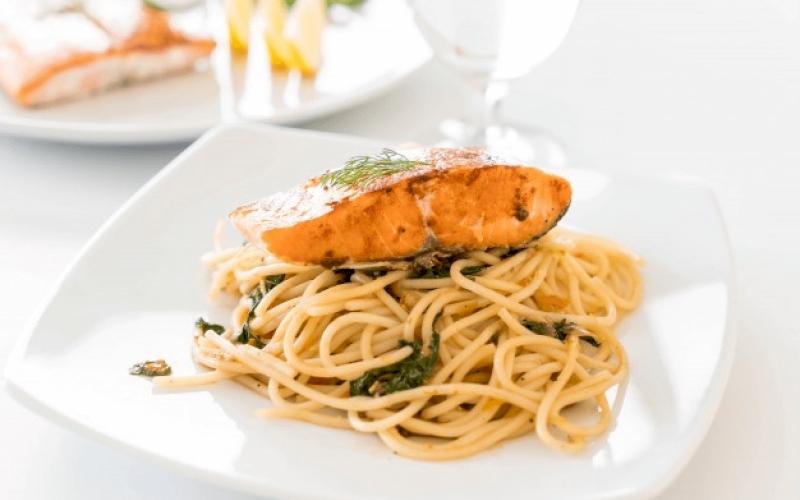 Savory Pasta with Salmon Recipe